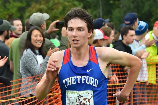 Boys 1 Woods Trail Run 2017-10-07