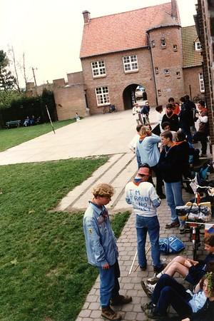 1993-1994 - Activiteit - 5 Jaar Meisjeswerking - Westouter