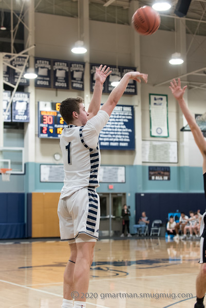 2020 Boys Varsity Basketball vs. Scappoose