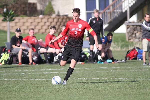 Linn-Mar vs. Xavier Boys' Soccer 4/14/16