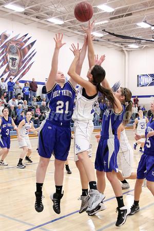 Girls Basketball, Holy Trinity vs Danville 12/14/2013