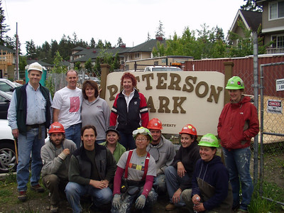 6/11/2008 Patterson Park- Legislator Build Day