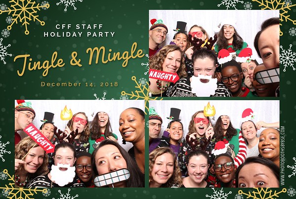 Cystic Fibrosis Foundation Holiday Party