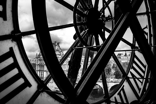 View from Musee d' Orsay, Paris