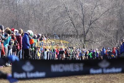 Boys' Seeded Race Finish - 2014 Footlocker Midwest Regional