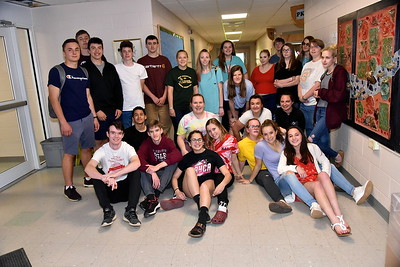 AMHS Class Of 2019 Gets A Fisher Hallway Hooray photos by Gary Baker