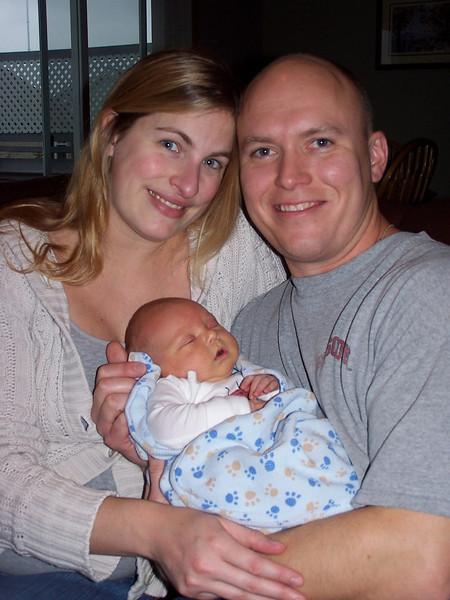 Lisa, John and Ethan