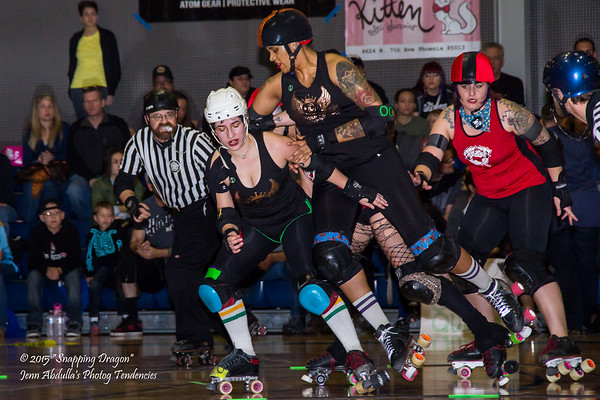 AZRD Surly Gurlies v TRD Copper Queens 1-2015