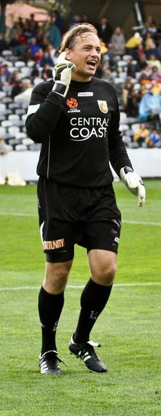 Bosnich seems to be having some trouble hearing our chants ...