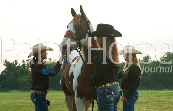 Paint Barrel Racers