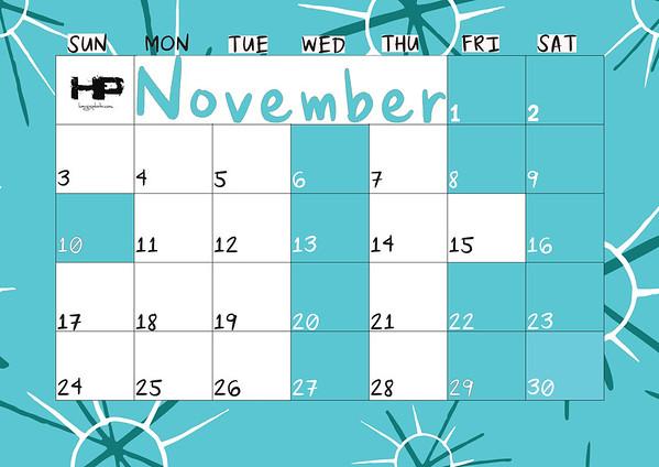 2019 Senior Calendar