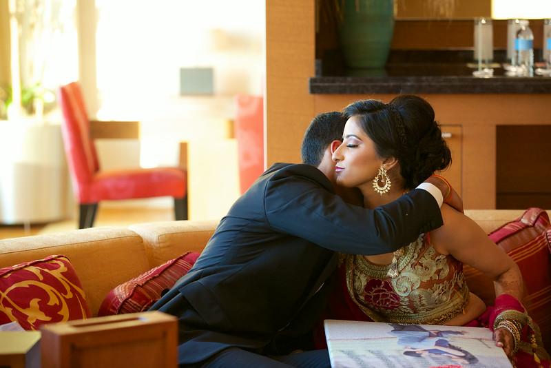 Le Cape Weddings - Indian Wedding - Day 4 - Megan and Karthik Exchanging Gifts 16.jpg
