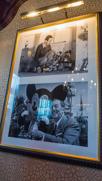First and last picture Walt Disney took with Mickey Mouse.