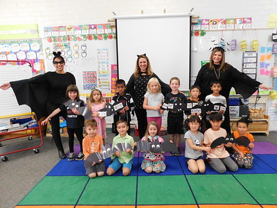 Paradise Canyon Kindergartners Go Batty