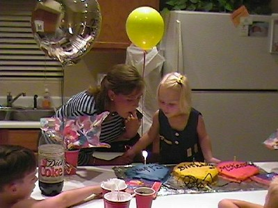 McKenzie's 3rd Birthday August