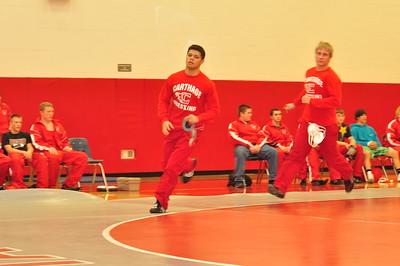 Wrestling vs South Lewis 12-13-2011
