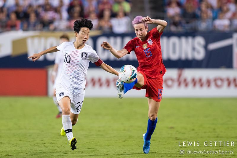 USWNT vs Korea Republic 10-3-2019