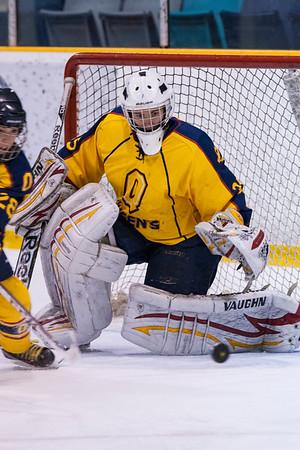 Women's Hockey - Queen's at Laurier 20140226