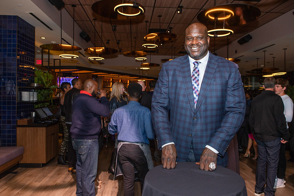 Shaquille's Grand Opening