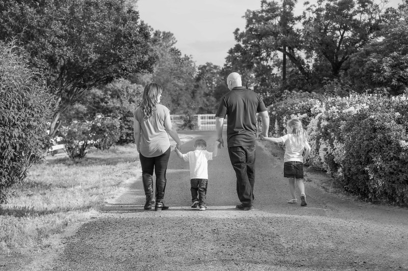 177 Seaton Family Crop BW .JPG