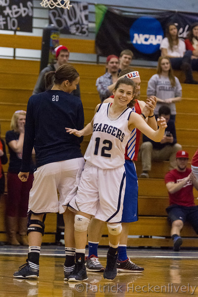 2013-02-16 Hillsdale College women's basketball vs. Ashland