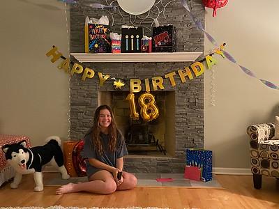 May 16: Hailey's 18th Birthday