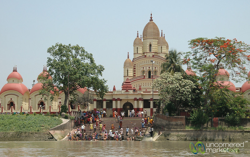 View of Dakshineswar Kali Temple - Kolkata, India