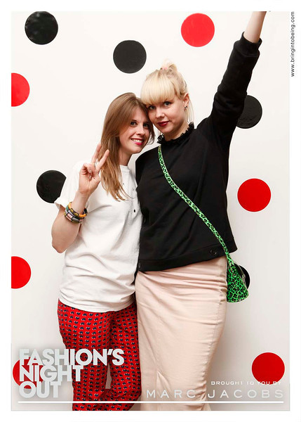 Marc Jacobs - Fashion's Night Out - London, UK