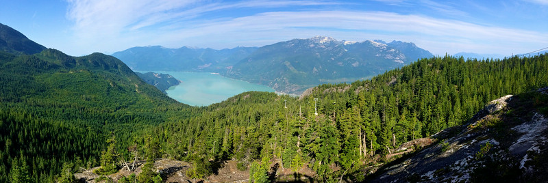 up above Squamish, using the help of the Sea To Sky gondola