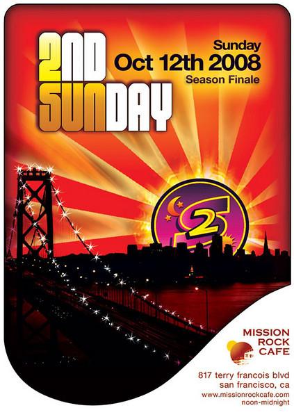2nd Sunday Season Finale @ Mission Rock Cafe 10.12.08