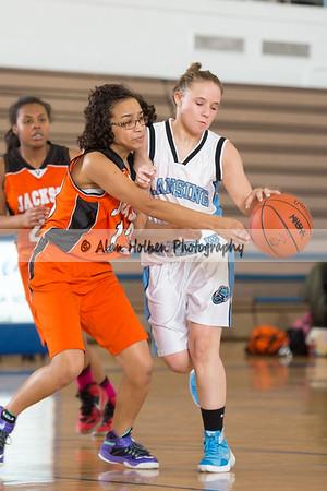 Ladies Freshman Basketball - Jackson at Lansing Catholic