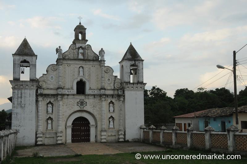 Church of Las Mercedes - Gracias, Honduras