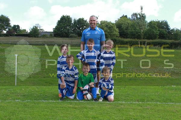 Under 7's Team Photo's