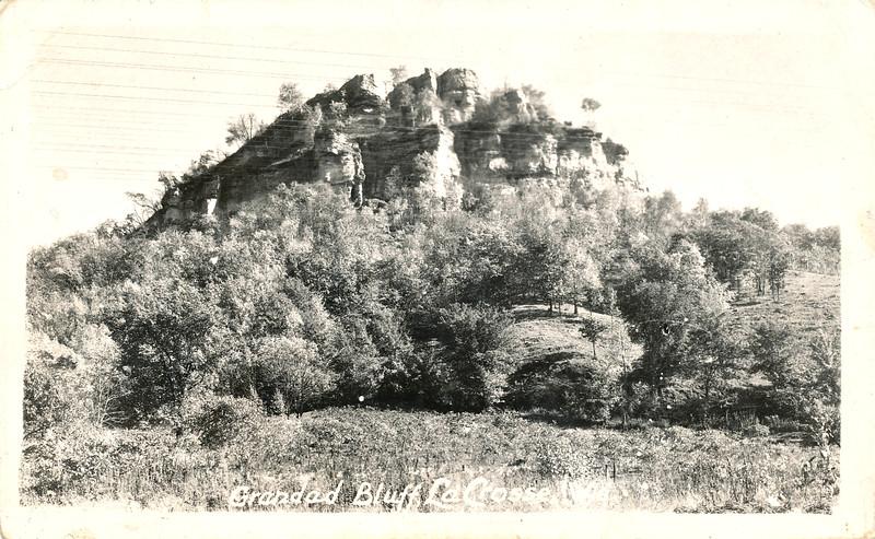 Grandad Bluff, La Crosse, WI  -  around 1939