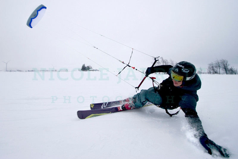Kite Ski- Zebulon Jakub, an avid kite skiier, says he feels the most alive when participating in this sport. He travels to many places from frozen lakes to mountain tops to feel the rush of the sport which can allow him to speed across a lake or jump feet off the ground.