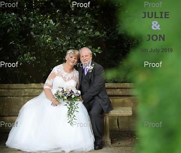 Julie & Jon Album Design