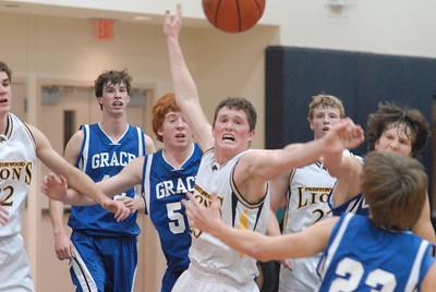 PCA Varsity Lions vs Tyler Grace Chargers Basketball