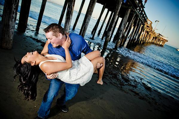 Shelly and Jonathan - Engagement Photography, Capitola, California