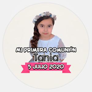 Comunión Tania