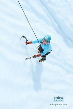 August 16 - Ice Climb with Scott