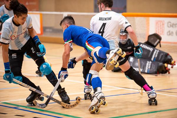 Semifinal: Argentina vs Italy