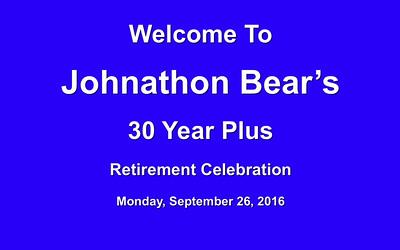 Johnathon Bear Retirement Slideshow