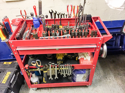 Tool trolley cart
