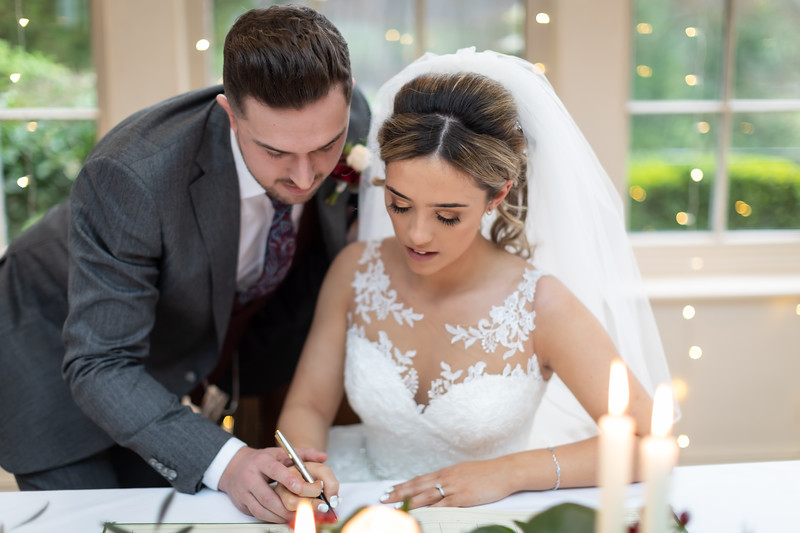 Laura and Jake at Mitton Hall, Clitheroe