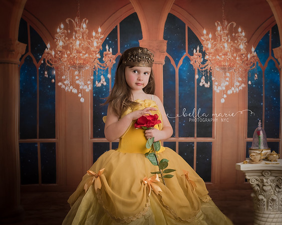 Amelia as Princess Belle