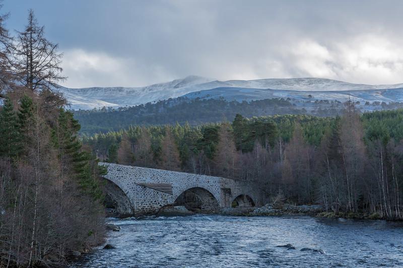 Invercauld Bridge - River Dee