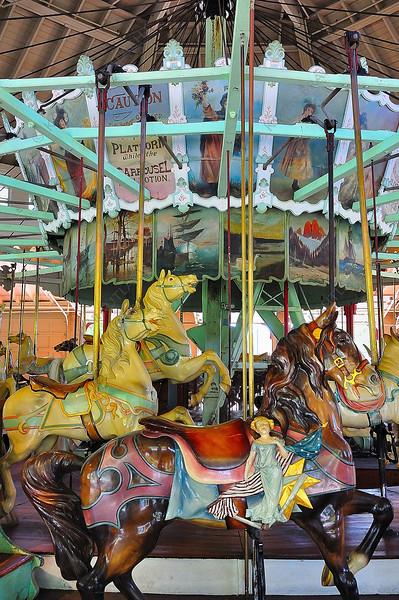 The Duchess, an original 1905 Dentzel carousel.