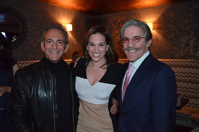 Mike Walker Book Party With Geraldo Rivera
