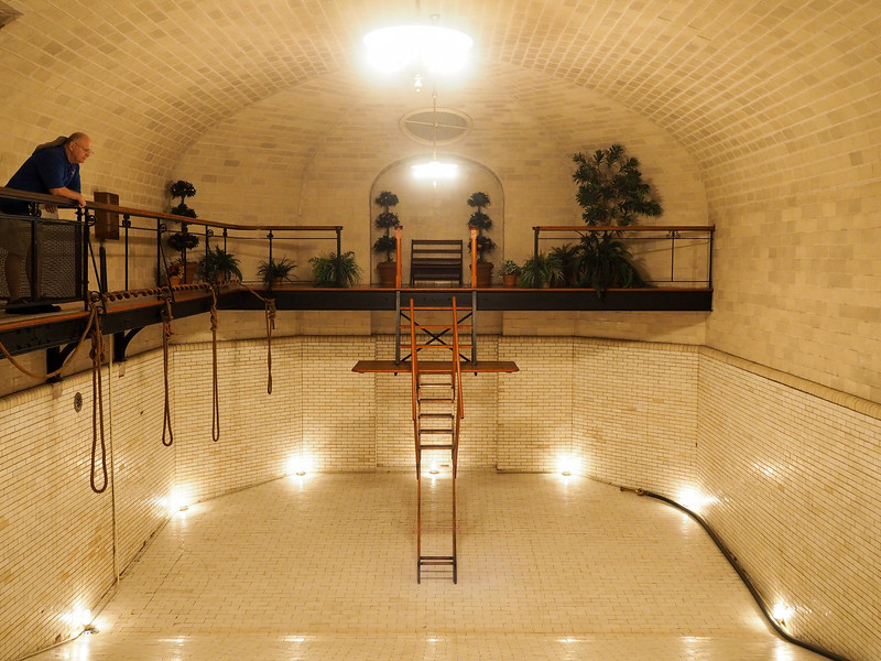 Biltmore house swimming pool