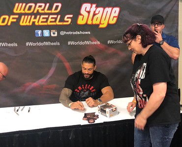 Roman Reigns - by Heather/World of Wheels Indianapolis